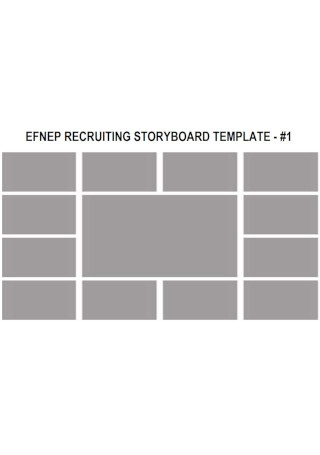 Sample Recruiting Storyboard Template
