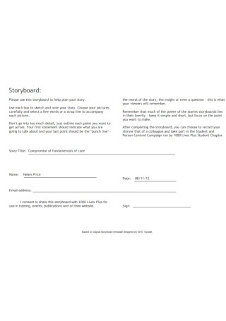 Simple Storyboard Example