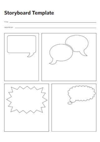 Storyboard Consulting Template