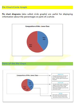 Circle Bar Graph Template