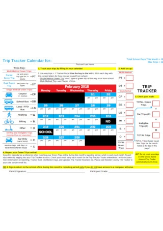 Employee Trip Vacation Tracker Template