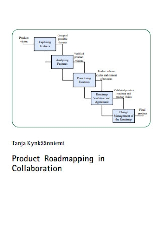 Product Roadmapping in Collaboration Template