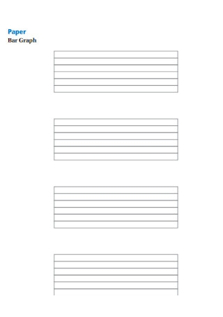 Sample Paper Bar Graph Template