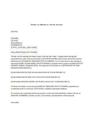 Sample Telephoe Business Proposal Letter