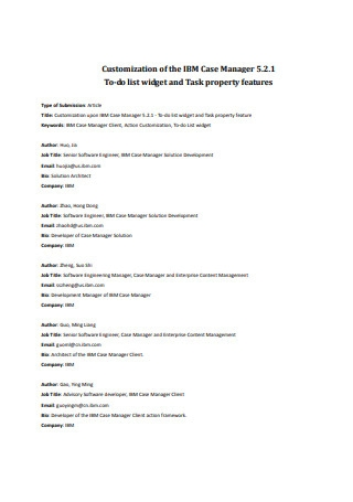 To do List Widget and Task Property Features Template