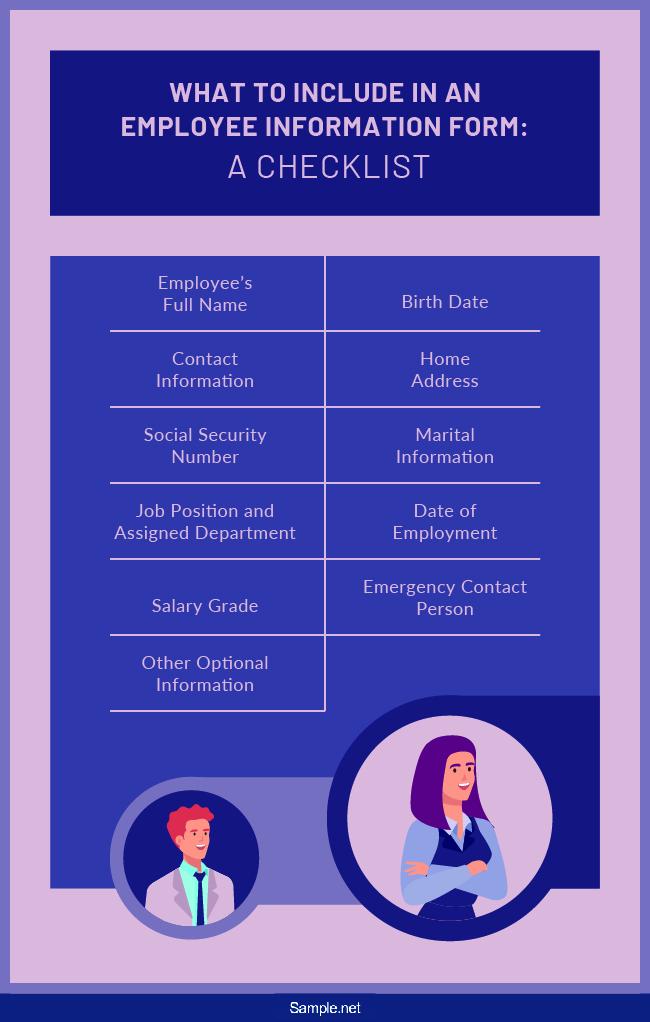 checklist-employee-information-form-sample-net-01