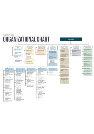 Sample Detailed Organizational Chart