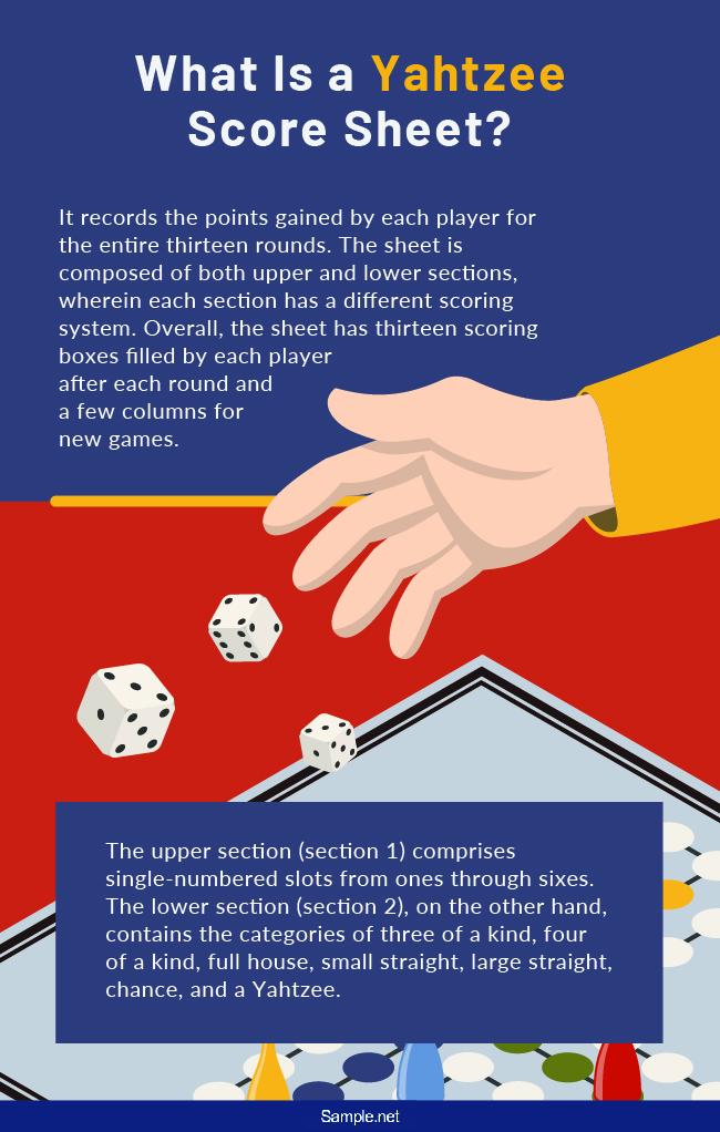 yahtzee-game-scorecard