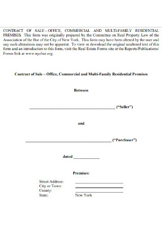 Office Sales Contract Template
