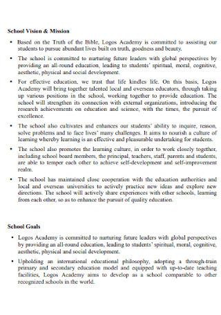 School Academy Development Plan