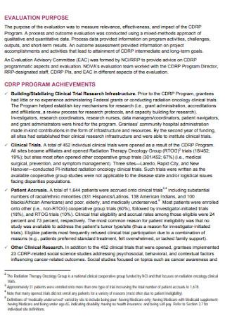 Final Program Evaluation Report