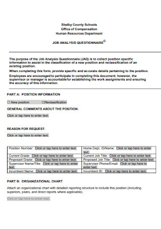 HR Job Analysis Report