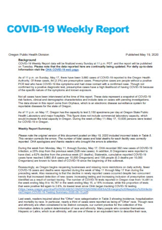 Health Weekly Report Template