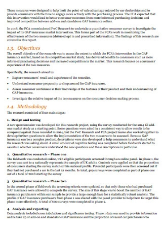 Insurance Research Narrative Report