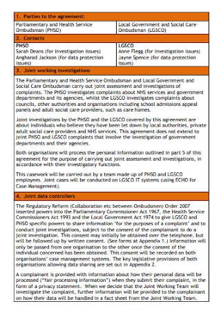 Joint Data Controller Agreement