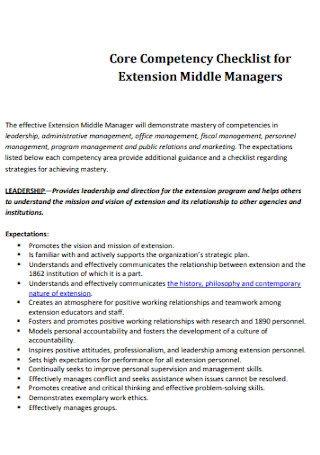 Middle Managers for Middle Managers