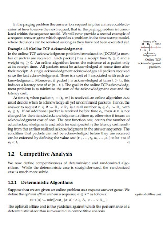 Online Optimization Competitive Analysis