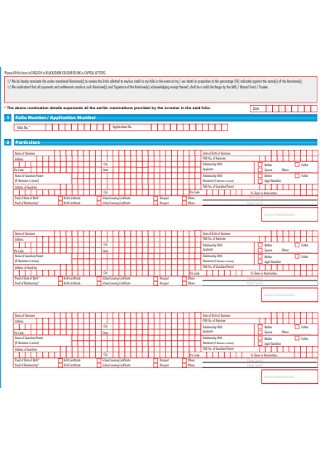 Mutual Fund Nomination Form