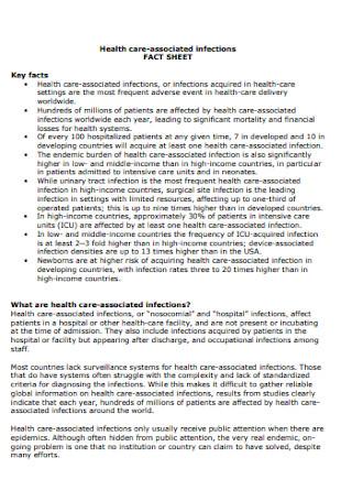 Health Fact Sheet