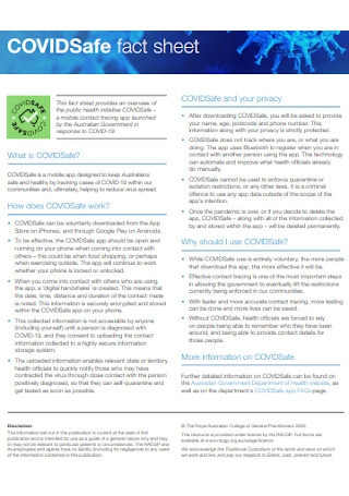 Safe Fact Sheet