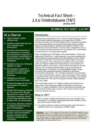 Technical Fact Sheet