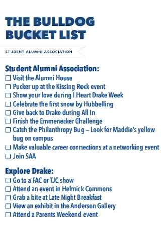Bulldog Bucket List