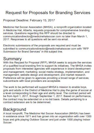 Branding Proposal Format