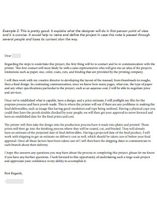 Job Proposal Letters