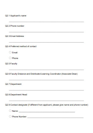 Learning Grant Proposal Form