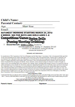 Official Shooting Receipt