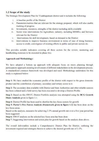 District Development Plan