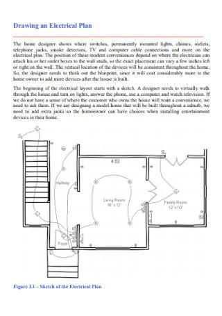 Drawing an Electrical Plan