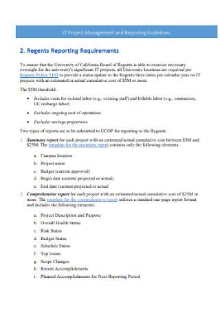 IT Project Management Plan