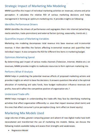 Strategic Marketing Budget Template