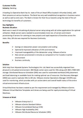 Banking Customer Profile