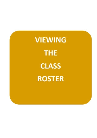 Class Roster View