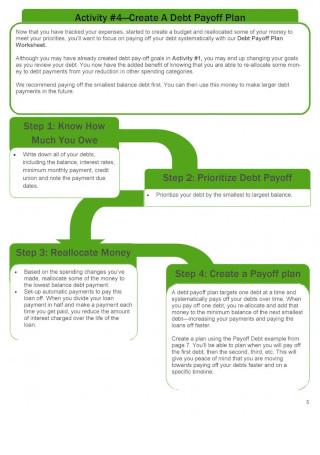 Debt Snowball Spreadsheet Guide