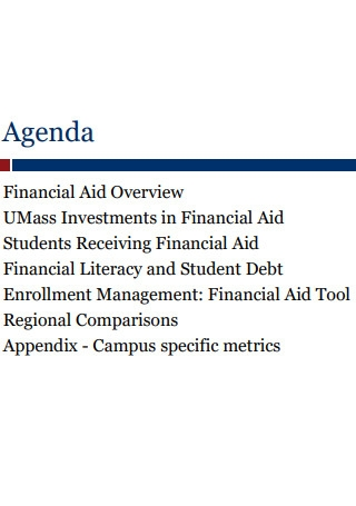 Financial Aid Report