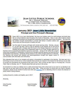 Jean Little Newsletter