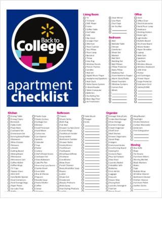 Kitchen Checklist For New Apartment