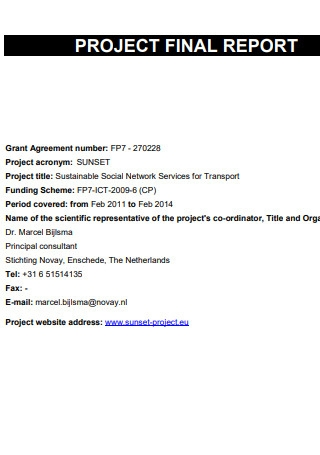 Project Final Report