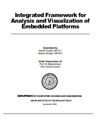 Project Report Framework