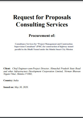 Request for Proposals Consulting Services