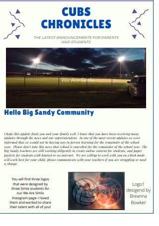 Sample Classroom Newsletter