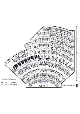Accessible Seating Chart