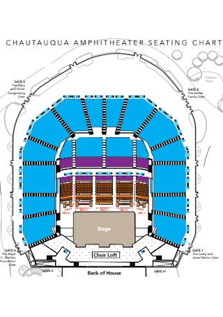 Anphitheater Seating Chart