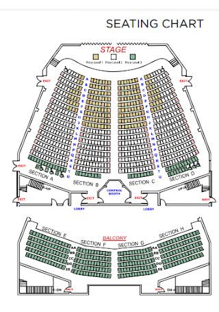 Auditorium Stage Seating Chart