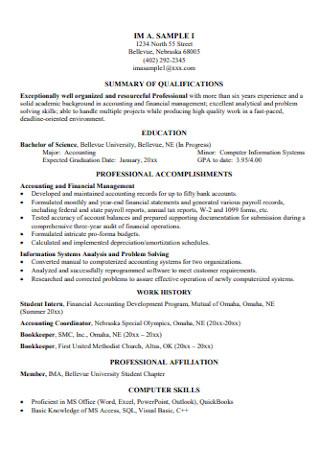 Customer Career Service Resume
