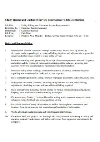 Customer Job Service Resume