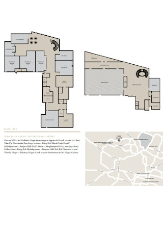 Directions and Floor Plan